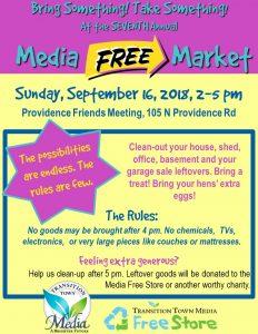 Seventh Annual Media Free Market! @ Providence Friends Meeting House | Media | Pennsylvania | United States