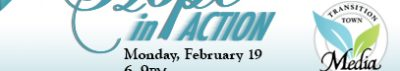 Our New Monthly Potlucks Start on February 19th with Hope in Action!